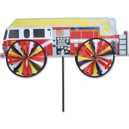 26 Inch Modern Fire Engine Wind Spinner
