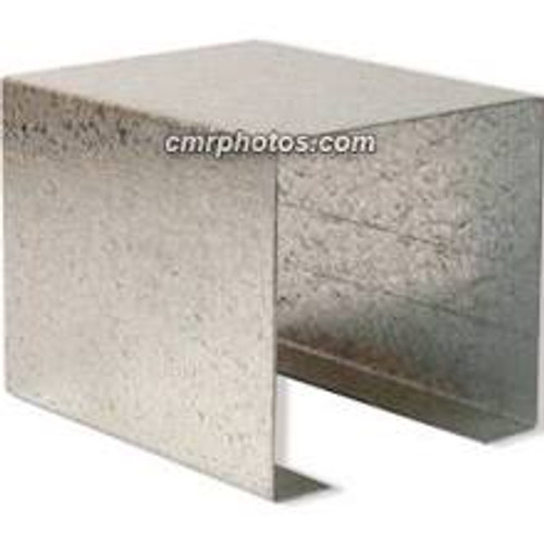 "2.25"" x 2.25"" Channel Galvanized Steel Sleeve Case of 10"