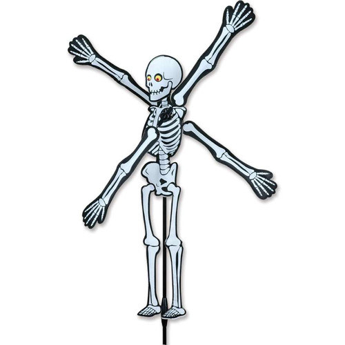 22 Inch Skeleton WhirliGig Wind Spinner