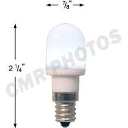 .7 watt T5 Led White candelabra base 25 bulb pack