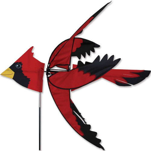 37 Inch North American Cardinal Wind Spinner