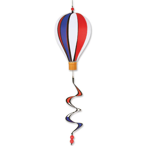 12 Inch Patriotic Hot Air Balloon Wind Spinner