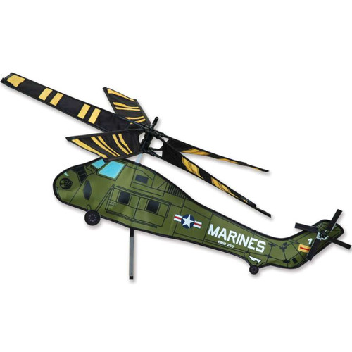28 Inch UH-34 Marine Helicopter Wind Spinner