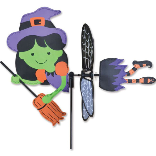 17 Inch Witch Petite Wind Spinner