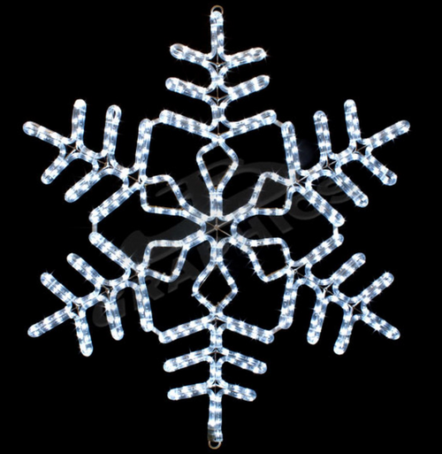 36 Inch LED Lighted Cool Snowflake Light