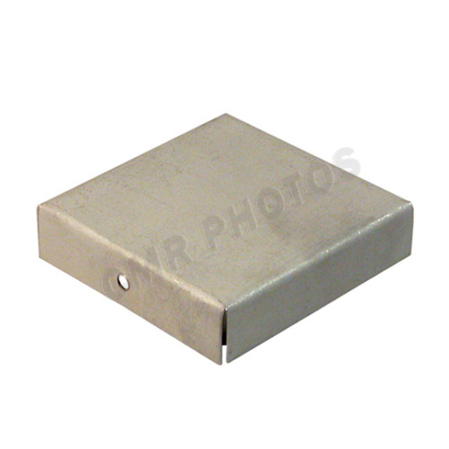 "2.25"" x 2.25"" Channel End Cap Steel Primer Finish"