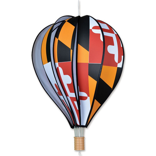 22 Inch Maryland Hot Air Balloon Wind Spinner