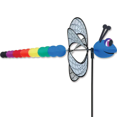 25 Inch Dragonfly Whirly Wing Wind Spinner