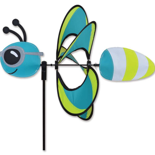 19 Inch Reflective Firefly Whirly Wing Wind Spinner