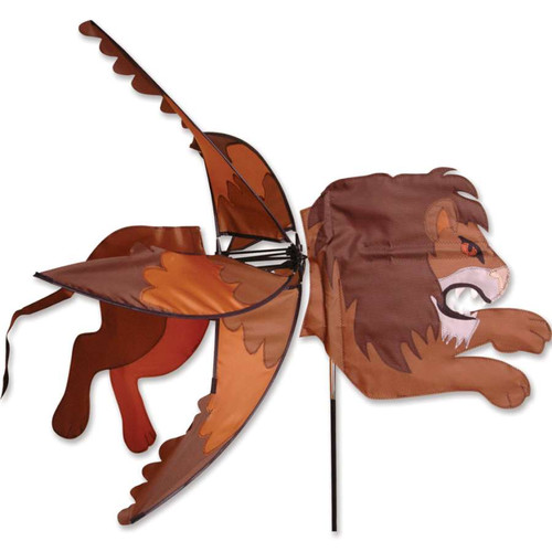 44 Inch Flying Lion Wind Spinner
