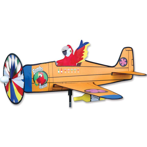 30 Inch Bombs Away Airplane Wind Spinner