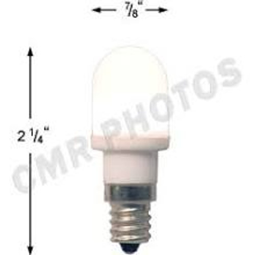.7 watt T5 Led Warm White candelabra base 25 bulb pack