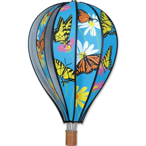 22 Inch Butterfly Hot Air Balloon Wind Spinner