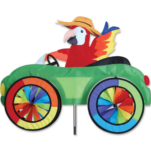 25 Inch Parrot Car Wind Spinner