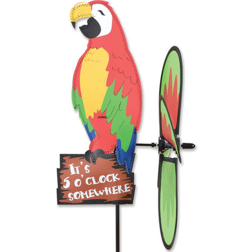 16 Inch Party Macaw Petite Wind Spinner