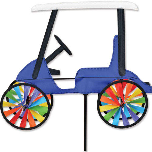 17 Inch Blue Golf Cart Wind Spinner