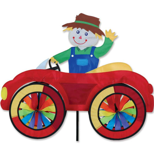 25 Inch Scarecrow Car Wind Spinner