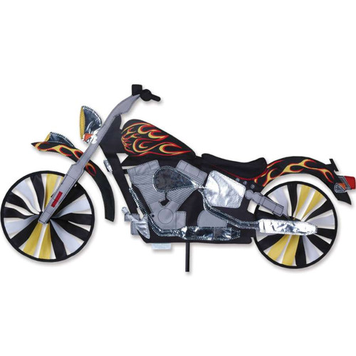 32 Inch Flame Motorcycle Wind Spinner