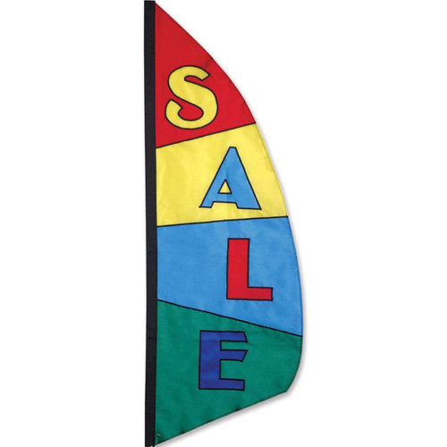 3.5 foot Feather Banner Sale Flag - Sale Block Pattern