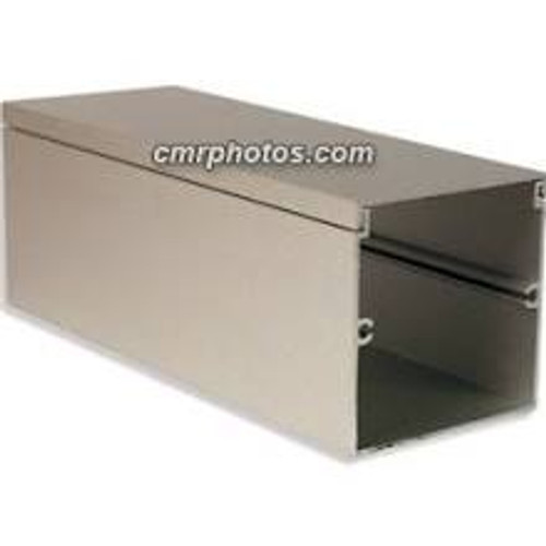 Satin Anodized Aluminum Channel 8 Foot Section (Case of 8)