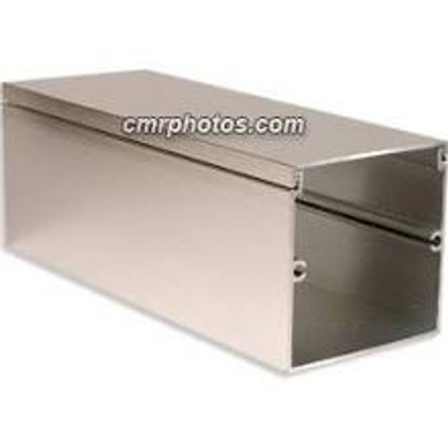 Silver Anodized Aluminum Channel 8 Foot Section