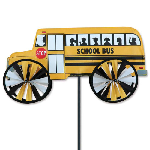 18 Inch School Bus Wind Spinner