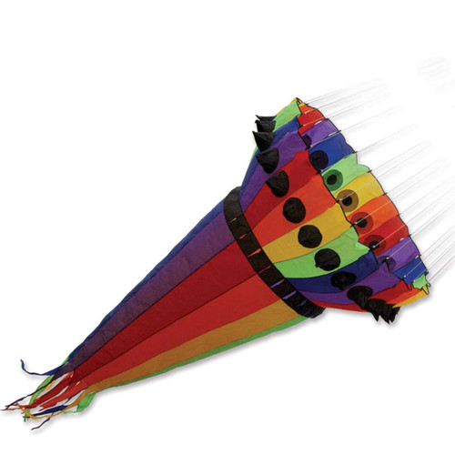 10 Foot Rainbow Wind Cone for Kites