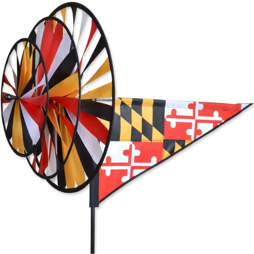 33 Inch Maryland Triple Wind Spinner