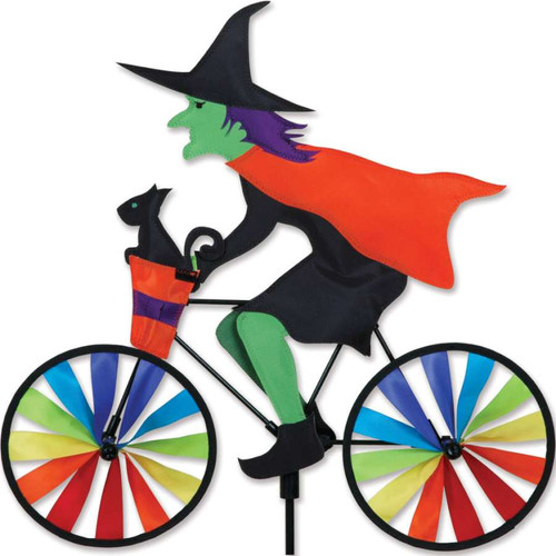 20 Inch Witch Bike Wind Spinner
