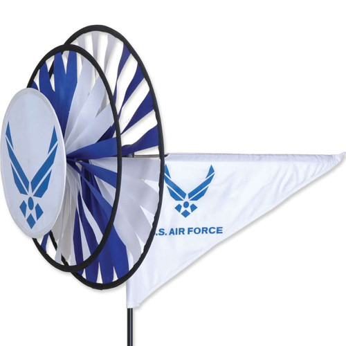33 Inch Air Force Triple Wind Spinner
