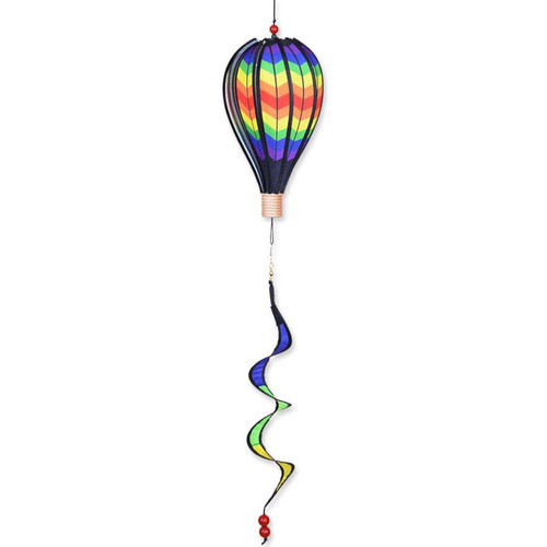 12 Inch Double Chevron Hot Air Balloon Wind Spinner
