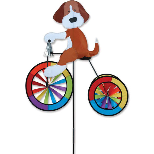 25 Inch Dog Tricycle Wind Spinner