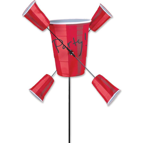 30 Inch Red Solo Party Cups WhirliGig Wind Spinner