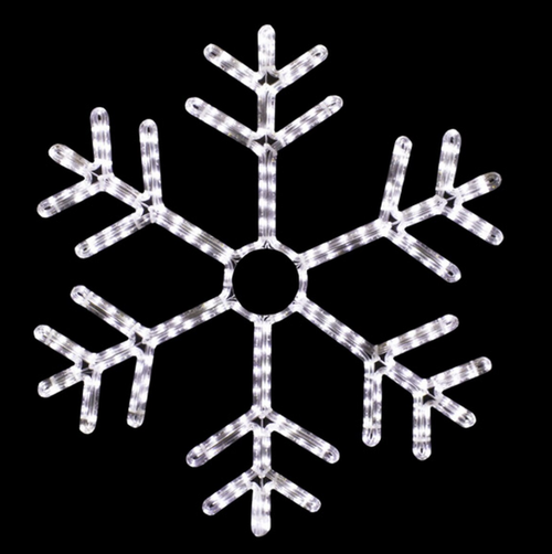 27 Inch LED Lighted Cool Twinkle Snowflake Light