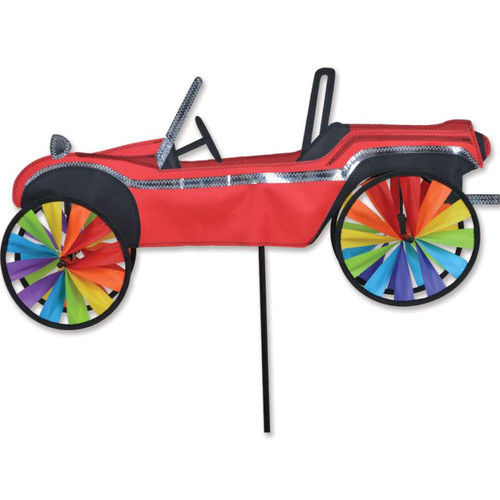 24 Inch Dune Buggy Wind Spinner