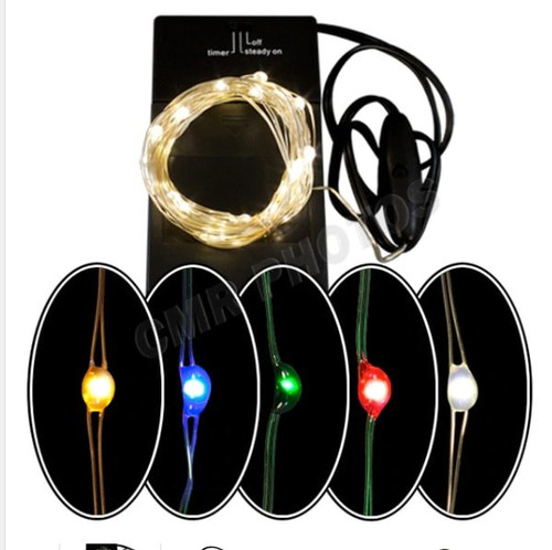 Led Battery Operated Wreath Lights