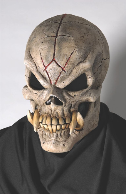 Adult Latex Creepy Doom Skull Mask