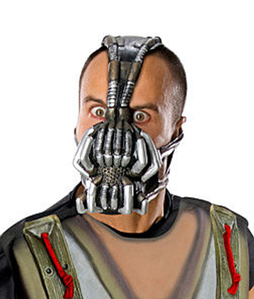 Adult Black Batman Bane Mask With Headband