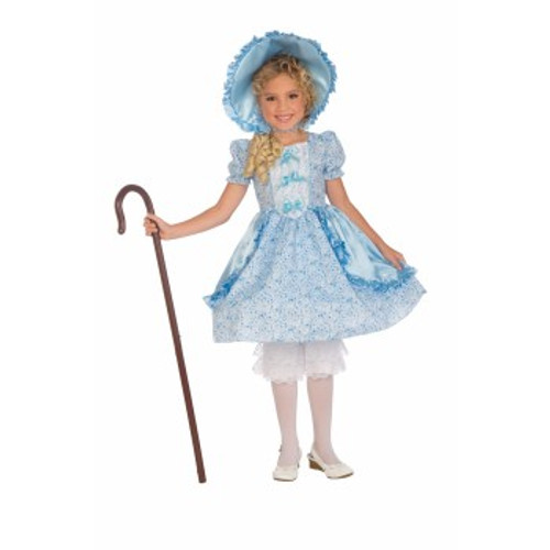 Kids Blue and White Little Bo Peep Costume