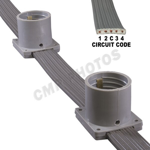 Movie Theater Marquee Light Belt With Sockets