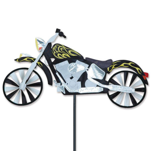 22 Inch Flame Motorcycle Wind Spinner