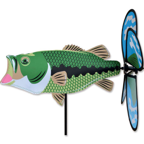 15 Inch Bass Fish Petite Spinner