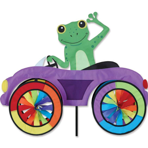 25 Inch Frog Car Wind Spinner