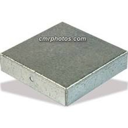 "2.25"" x 2.25"" Channel End Cap Galvanized Steel Case of 10"