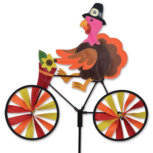 20 Inch Turkey Riding Bike Wind Spinner