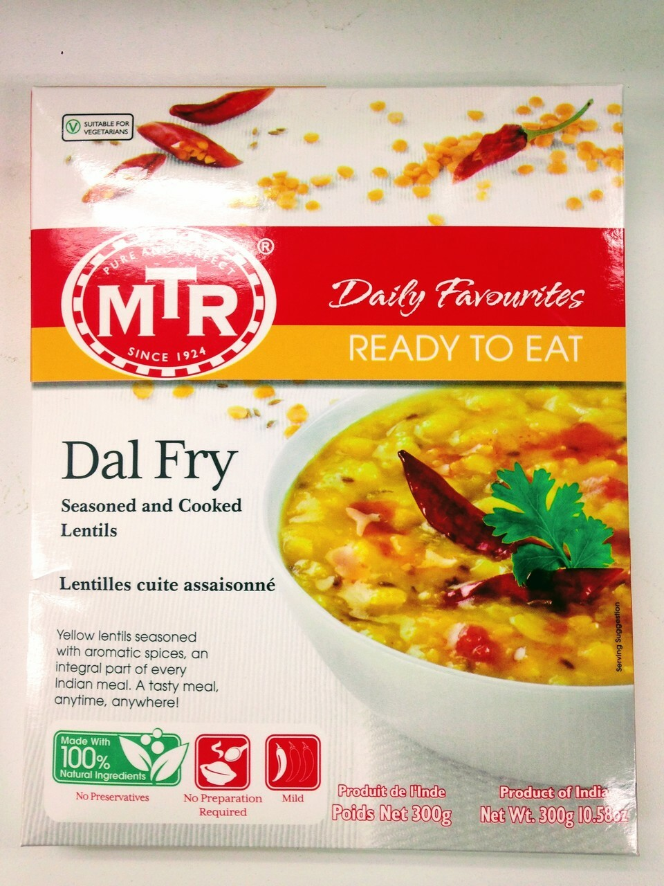 MTR Ready to Eat Dal Fry - 300g