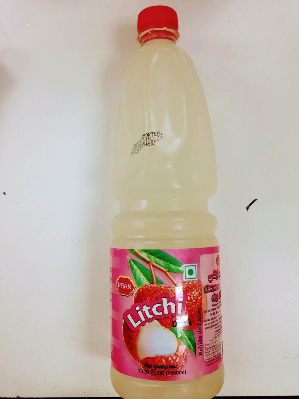 Pran Litchi Juice - 1000ml