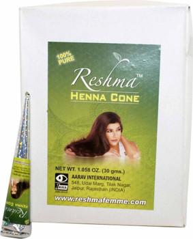 Reshma Henna Cones