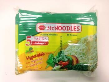 Pran Mr. Noodles Instant Noodles Vegetable Flavor - 70g