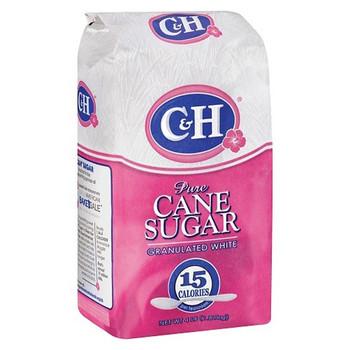 C&H Dark Brown Pure Cane Sugar 1kg